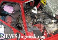 В ДТП в Луганской области погибли шесть человек